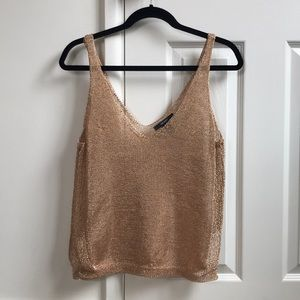 Forever 21 Top- Rose Gold Tank